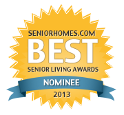 We just launched our 3rd Annual Best Senior Living Awards